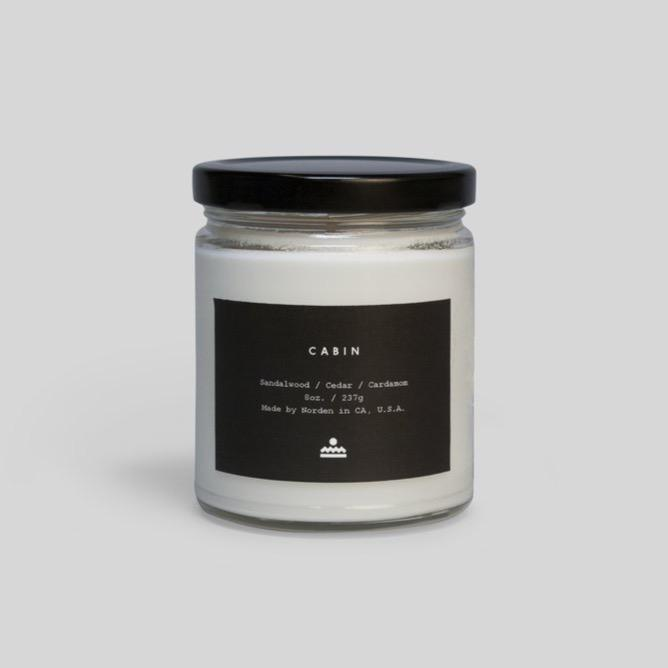 Cabin 8 oz. Jar Candle-Norden Goods-MONIKER GENERAL