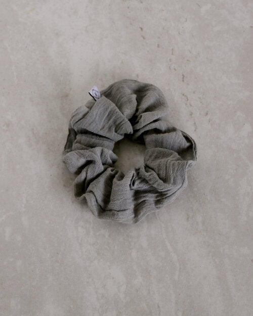 Naturally Dyed Cotton Gauze Scrunchies