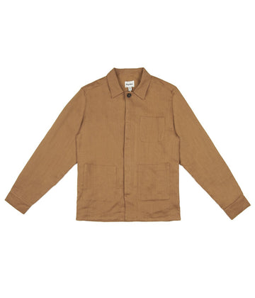 Chore Jacket in Tobacco-Rhythm.-MONIKER GENERAL