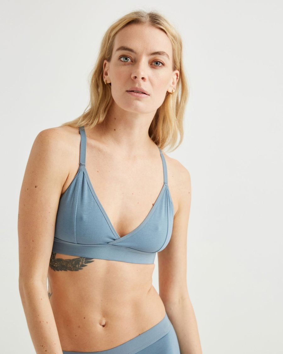 Classic Bralette - Blue Mirage-Richer Poorer-MONIKER GENERAL