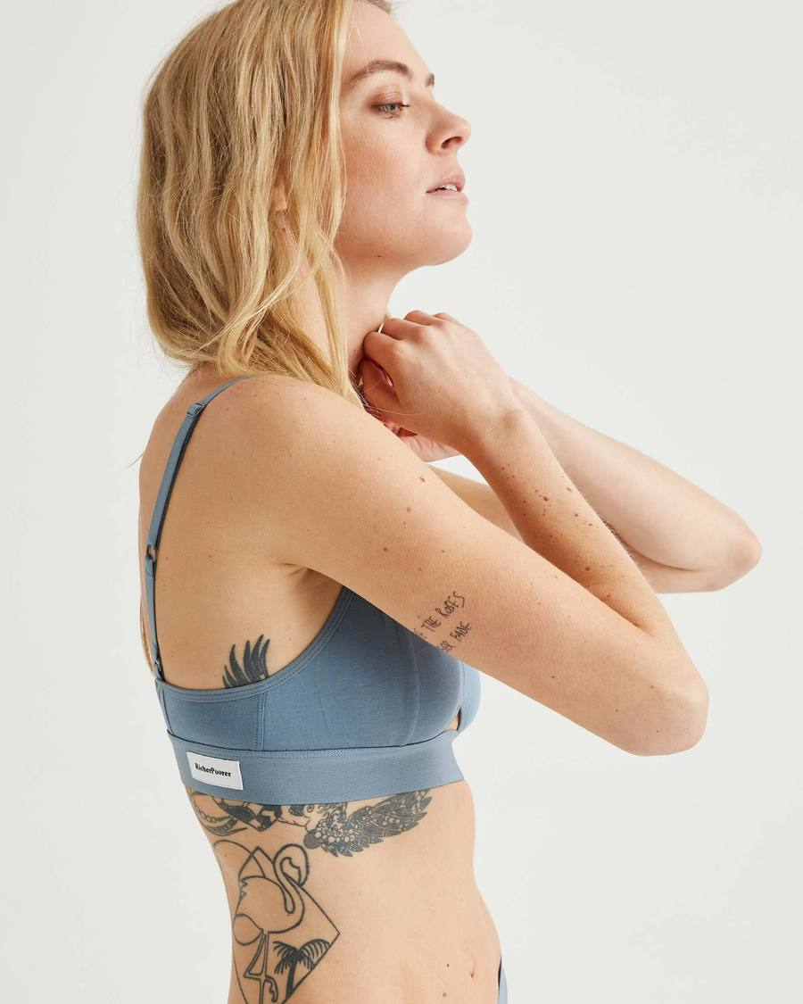 Cut Out Bralette - Blue Mirage-Richer Poorer-MONIKER GENERAL