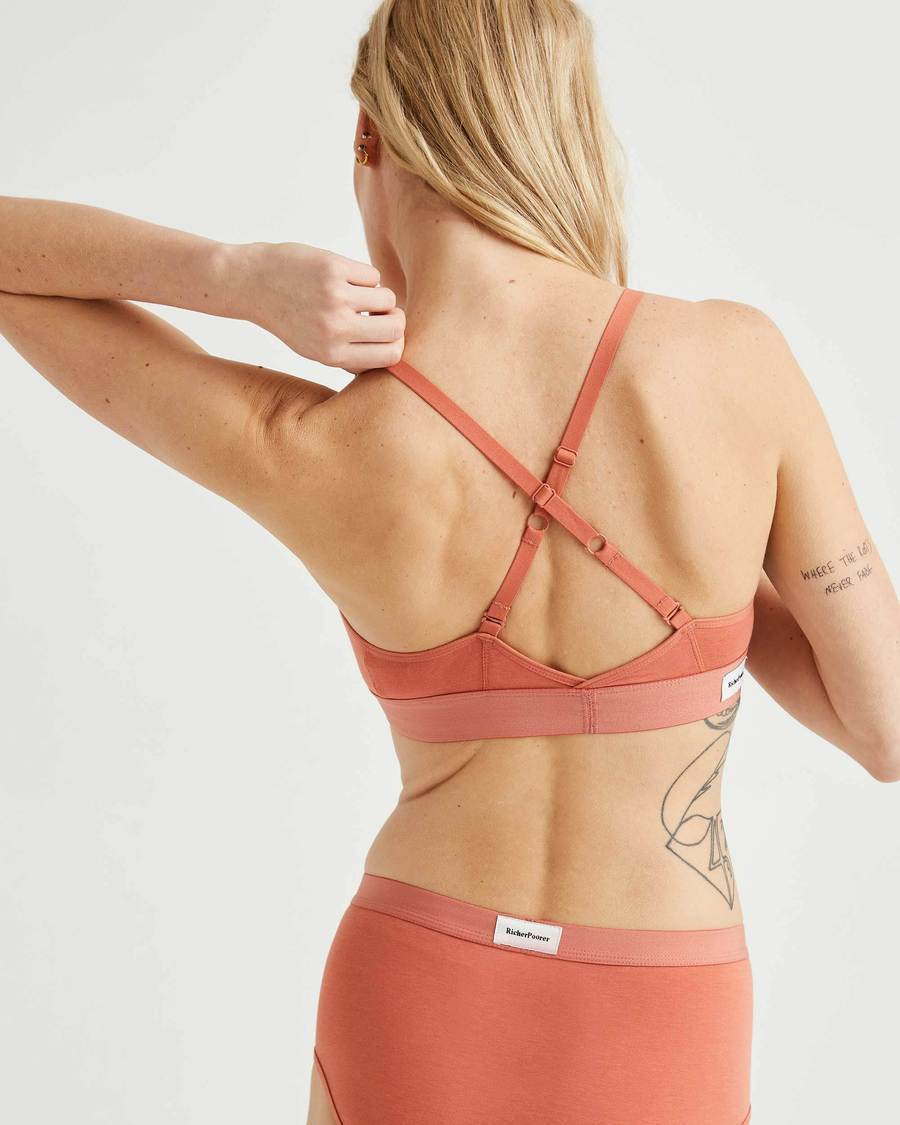 Cut Out Bralette - Summer Cinnamon-Richer Poorer-MONIKER GENERAL