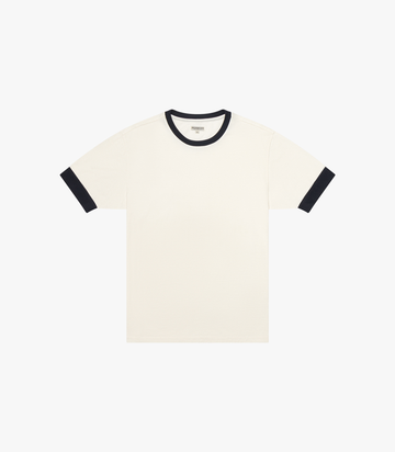 Color Block T-Shirt - White/Navy