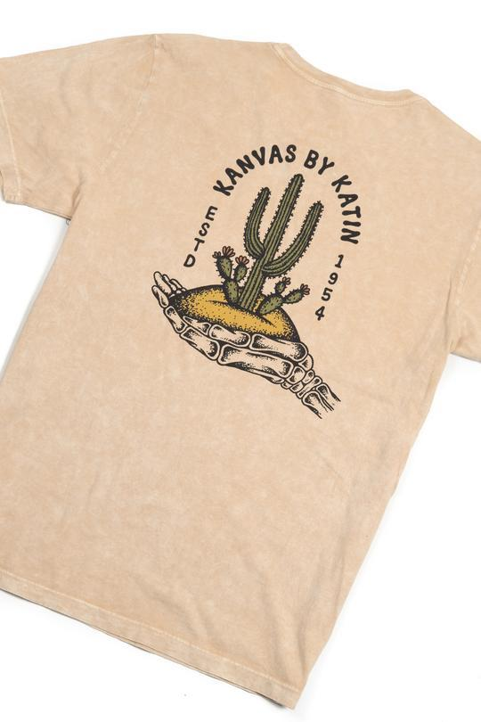 Deserted Tee in Khaki-Katin USA-MONIKER GENERAL