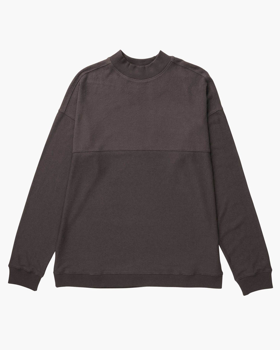Cozy Knit LS Sweater - Bitter Brown