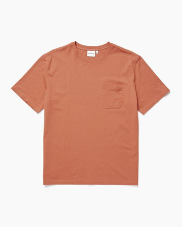 Men's Pocket Tee - Redwood
