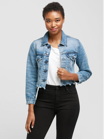 Cropped Jacket - Naibi Wash