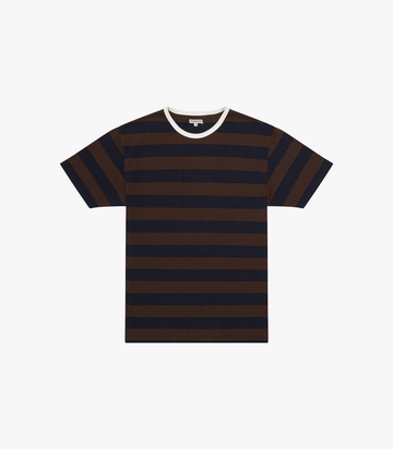 Mojave Tee - Chocolate Plum/Navy