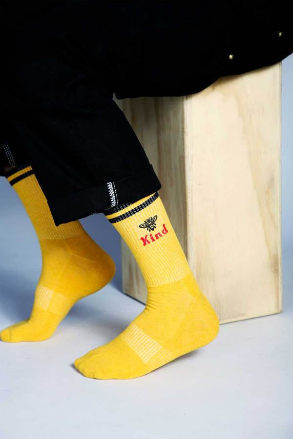 Men's Bee Kind - Yellow