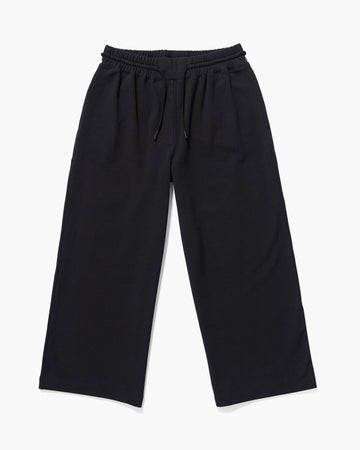 Terry Wide Leg Pant - Stretch Limo