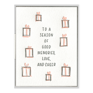 Good Memories, Love, and Cheer Card-Ink Meets Paper-MONIKER GENERAL
