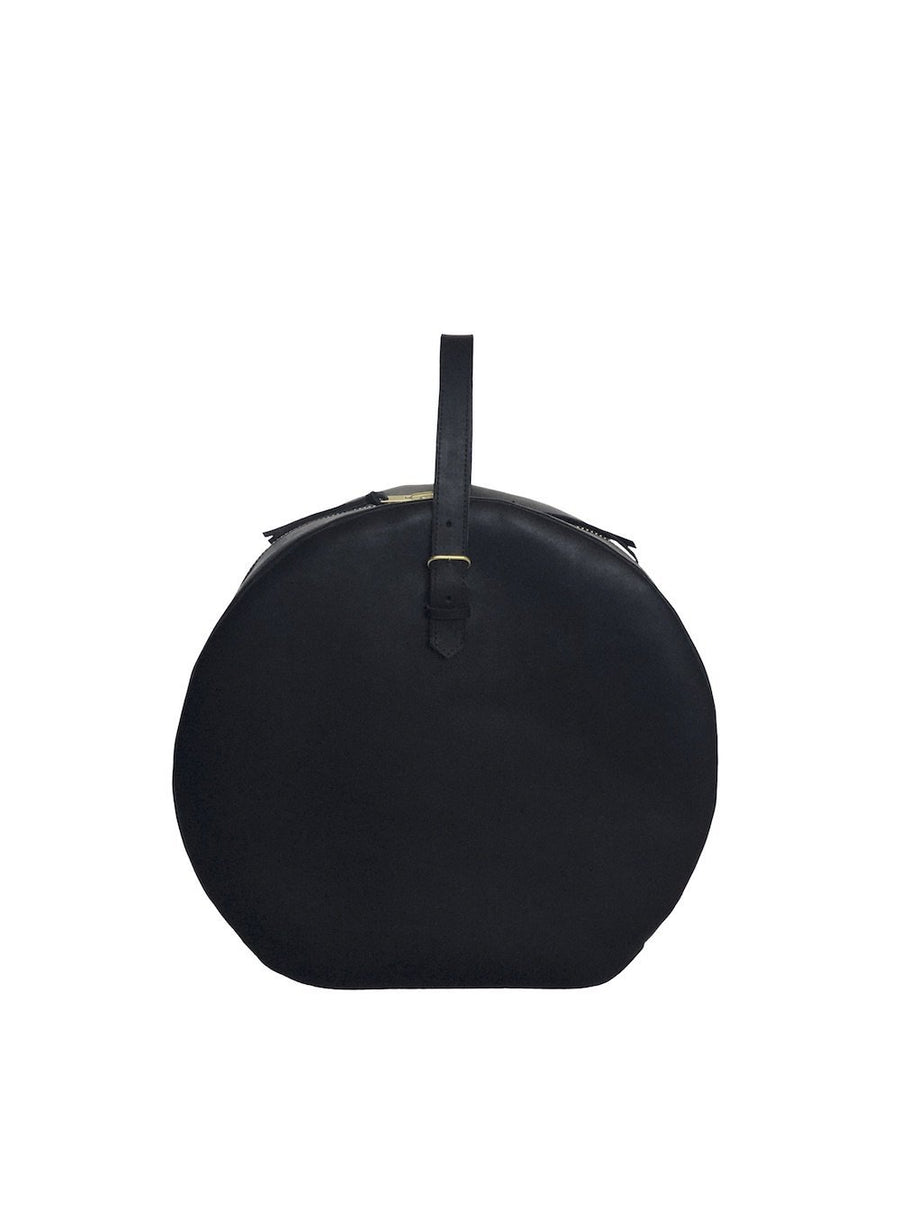 Grande Hat Box - Black-Boutonne-MONIKER GENERAL