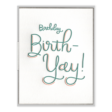 Happy Birth-Yay Card-Ink Meets Paper-MONIKER GENERAL