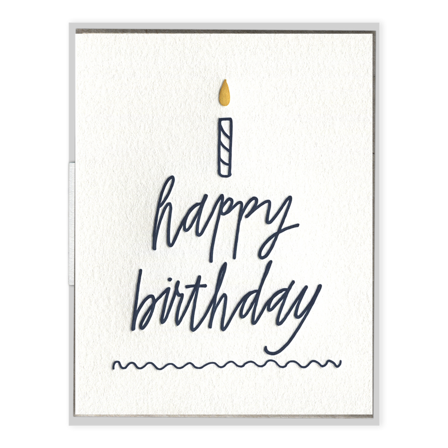Happy Birthday Cake Greeting Card-Ink Meets Paper-MONIKER GENERAL