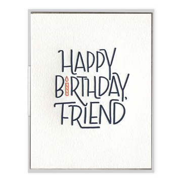 Happy Birthday, Friend Greeting Card-Ink Meets Paper-MONIKER GENERAL