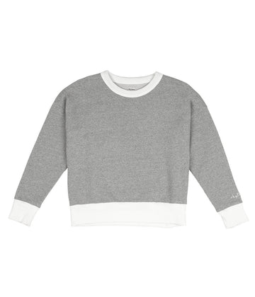 Helsinki Pullover in Grey-Rhythm.-MONIKER GENERAL