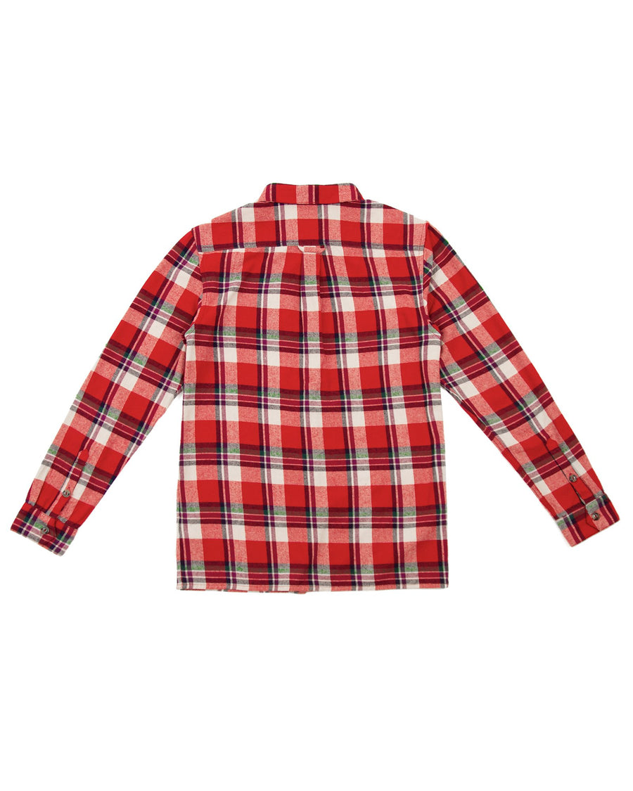 Highlands Flannel - Red-Rhythm.-MONIKER GENERAL