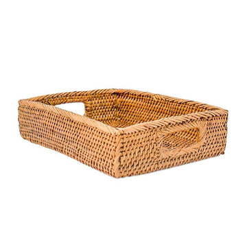 Honey Rattan Small Tray