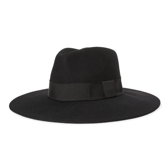 Joanna Felt Hat - Black-Brixton-MONIKER GENERAL