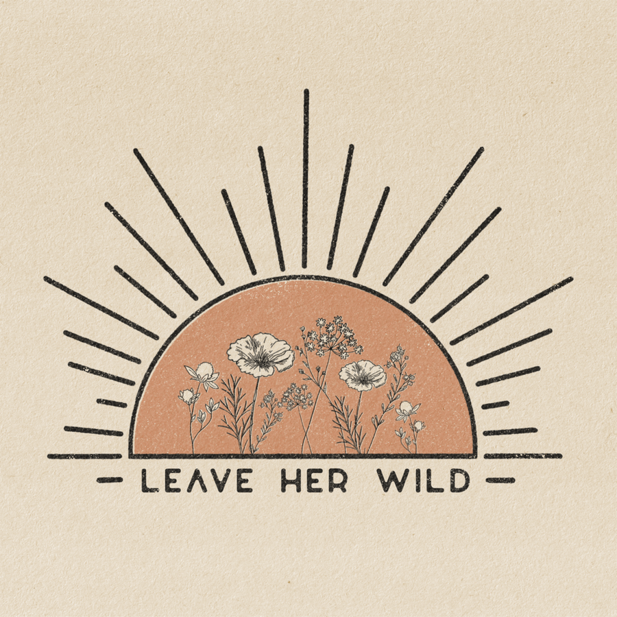 Leave Her Wild Print-ColorbloKC-MONIKER GENERAL