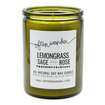 Lemongrass Sage Rose 12oz-Often Wander-MONIKER GENERAL