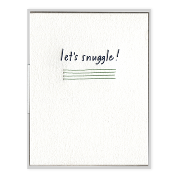 Let's Snuggle Greeting Card-Ink Meets Paper-MONIKER GENERAL