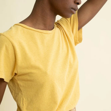 Lorel Tee in Sunray-Jungmaven-MONIKER GENERAL