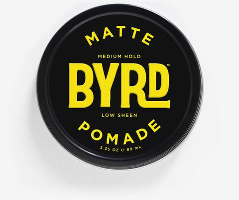 Matte Pomade 3 oz.-Byrd-MONIKER GENERAL