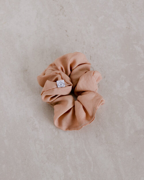 Naturally Dyed Silk Scrunchies