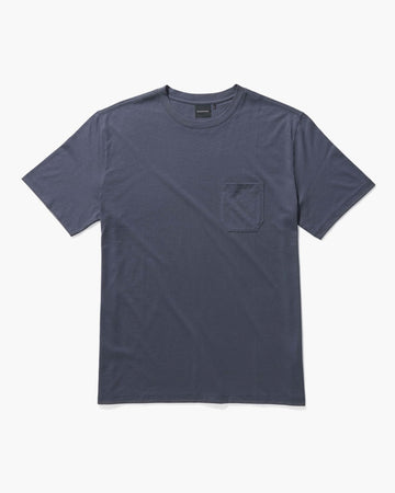 Men's Pima Pocket Tee - Blue Nights-Richer Poorer-MONIKER GENERAL