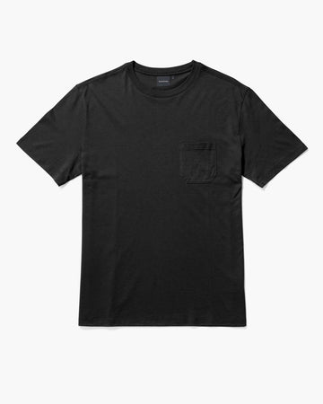 Men's Pima Pocket Tee - Stretch Limo-Richer Poorer-MONIKER GENERAL