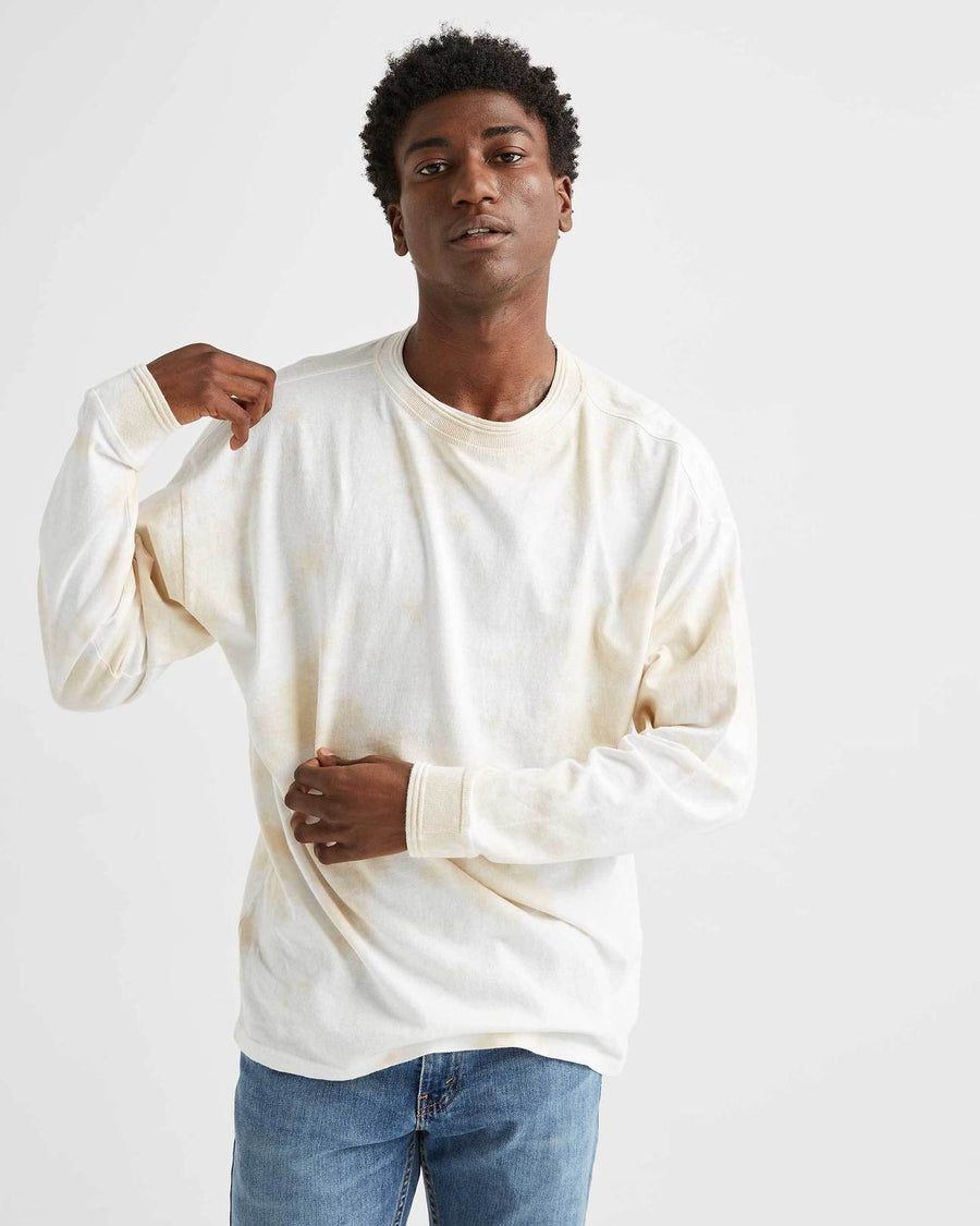 Men's Relaxed Long Sleeve - Washed Out-Richer Poorer-MONIKER GENERAL