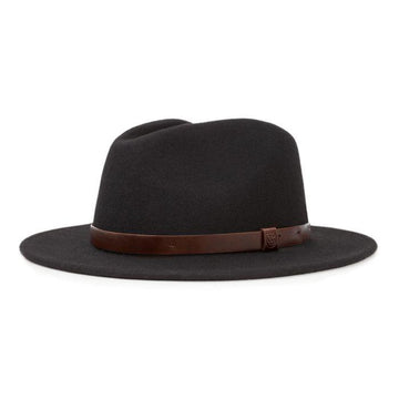 Messer Fedora - Black-Brixton-MONIKER GENERAL