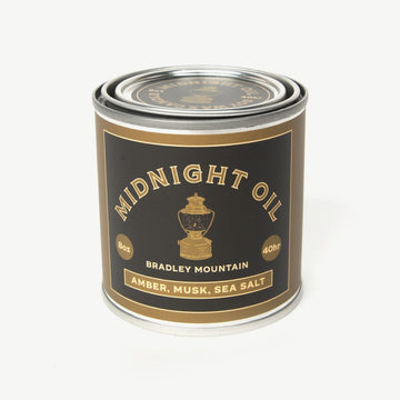 Midnight Oil Candle-Bradley Mountain-MONIKER GENERAL