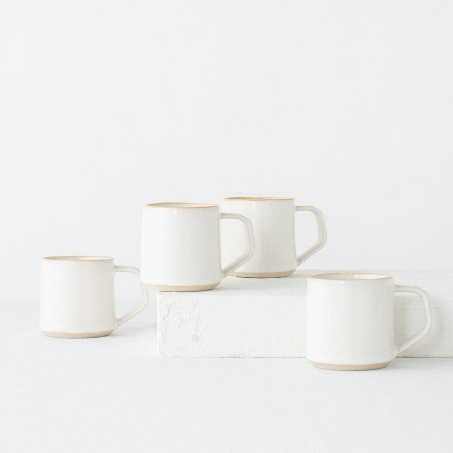 Minimal Mug in Sand - 8oz-CONVIVIAL-MONIKER GENERAL