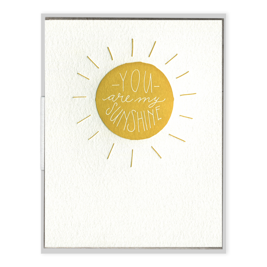 My Sunshine Greeting Card-Ink Meets Paper-MONIKER GENERAL