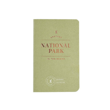 National Parks Passport Journal-Letterfolk-MONIKER GENERAL