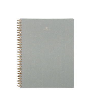 Notebook Dove Gray - Lined-Appointed-MONIKER GENERAL