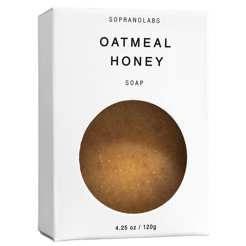 Oatmeal Honey Soap-SopranoLabs-MONIKER GENERAL