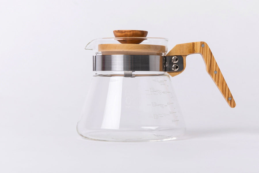 Olive Wood Coffee Server-HARIO-MONIKER GENERAL