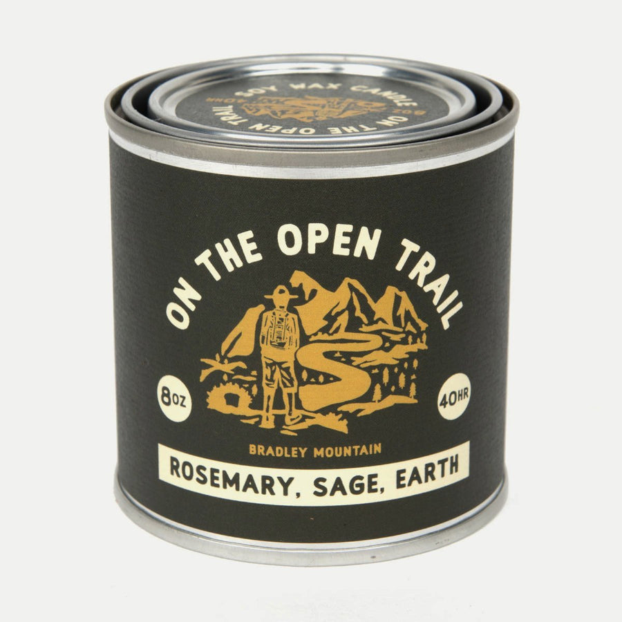 Open Trail Candle-Bradley Mountain-MONIKER GENERAL
