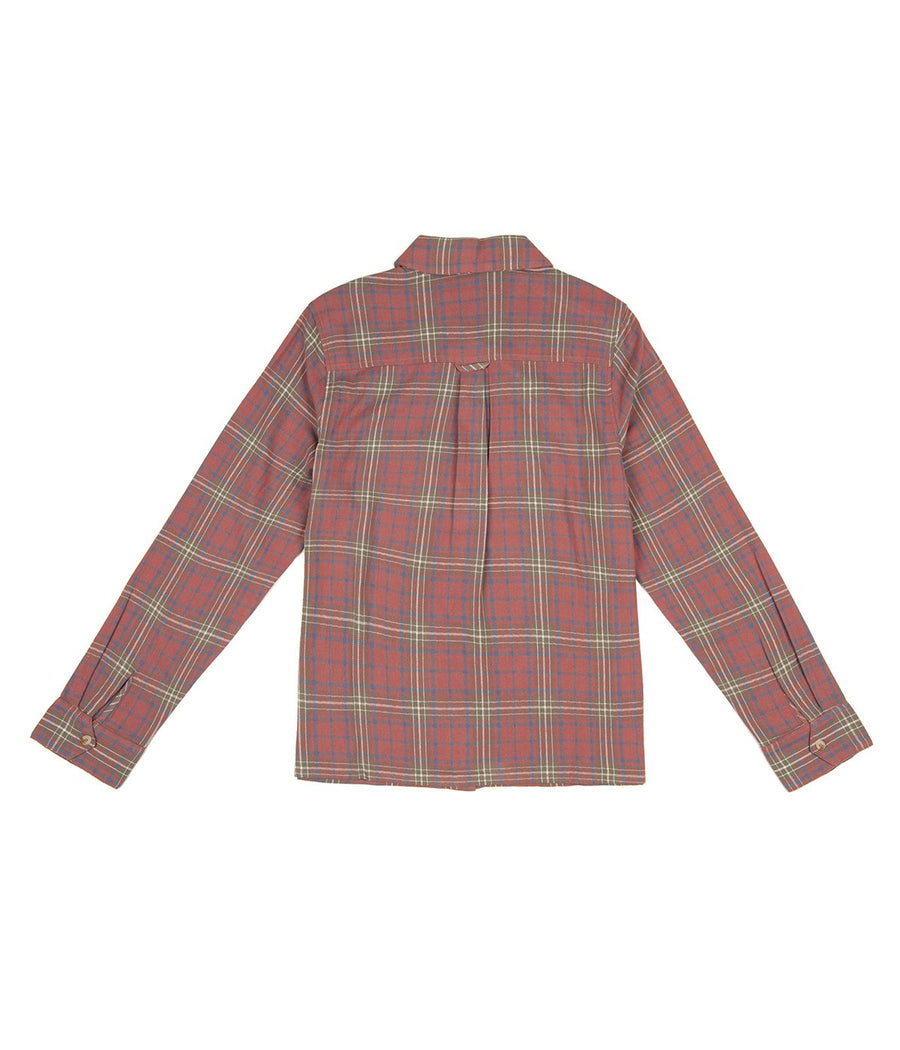 Paso LS Shirt in Terracotta-Rhythm.-MONIKER GENERAL