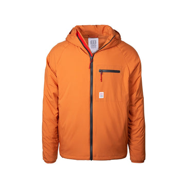 Puffer Hoodie, Men's, Clay-TOPO Designs-MONIKER GENERAL
