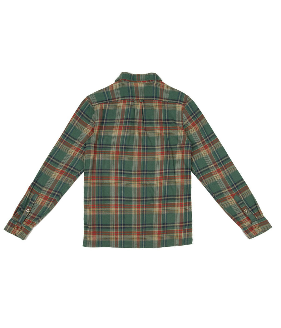 Rhythm Flannel in Green-Rhythm.-MONIKER GENERAL