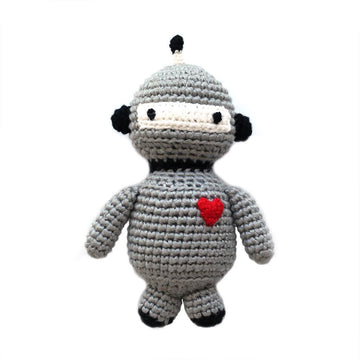 Robot Hand Crocheted Rattle-Cheengoo-MONIKER GENERAL