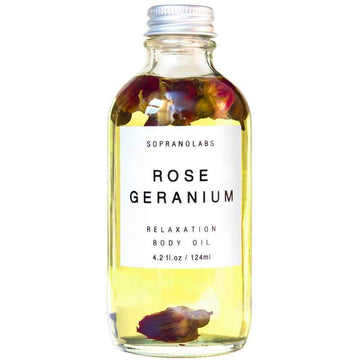 Rose Geranium Body Oil-SopranoLabs-MONIKER GENERAL