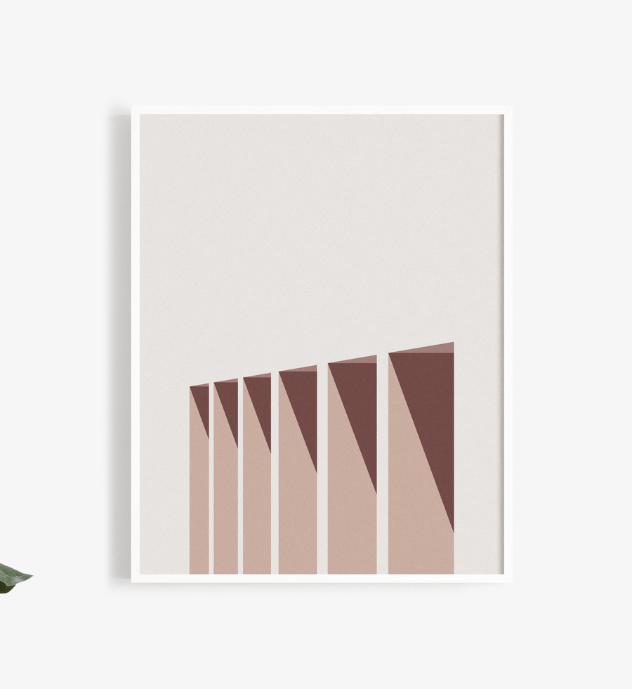 Row Art Print-Buhlaixe Ornament + Object-MONIKER GENERAL