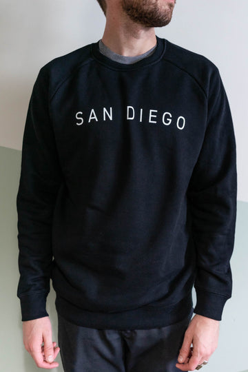 San Diego Arch Sweatshirt in Black-Moniker General-MONIKER GENERAL