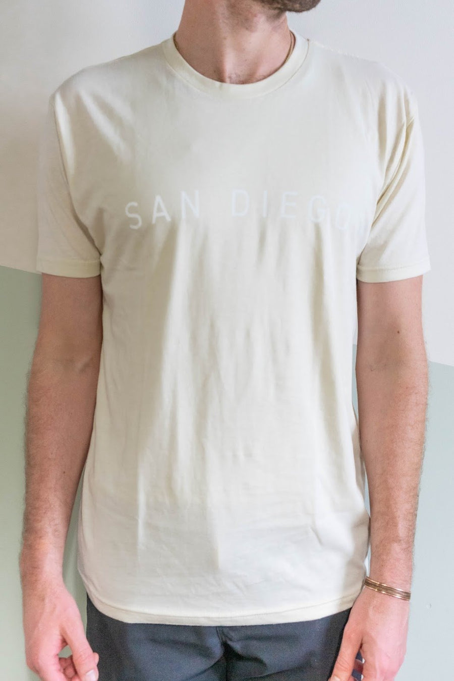 San Diego Arch Tee in Natural-Moniker General-MONIKER GENERAL