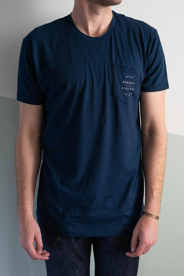 SDCA Shop Tee in Navy-Moniker General-MONIKER GENERAL